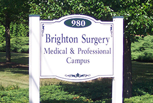 Brighton Surgical Campus Sign