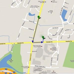 980 Westfall Rd map