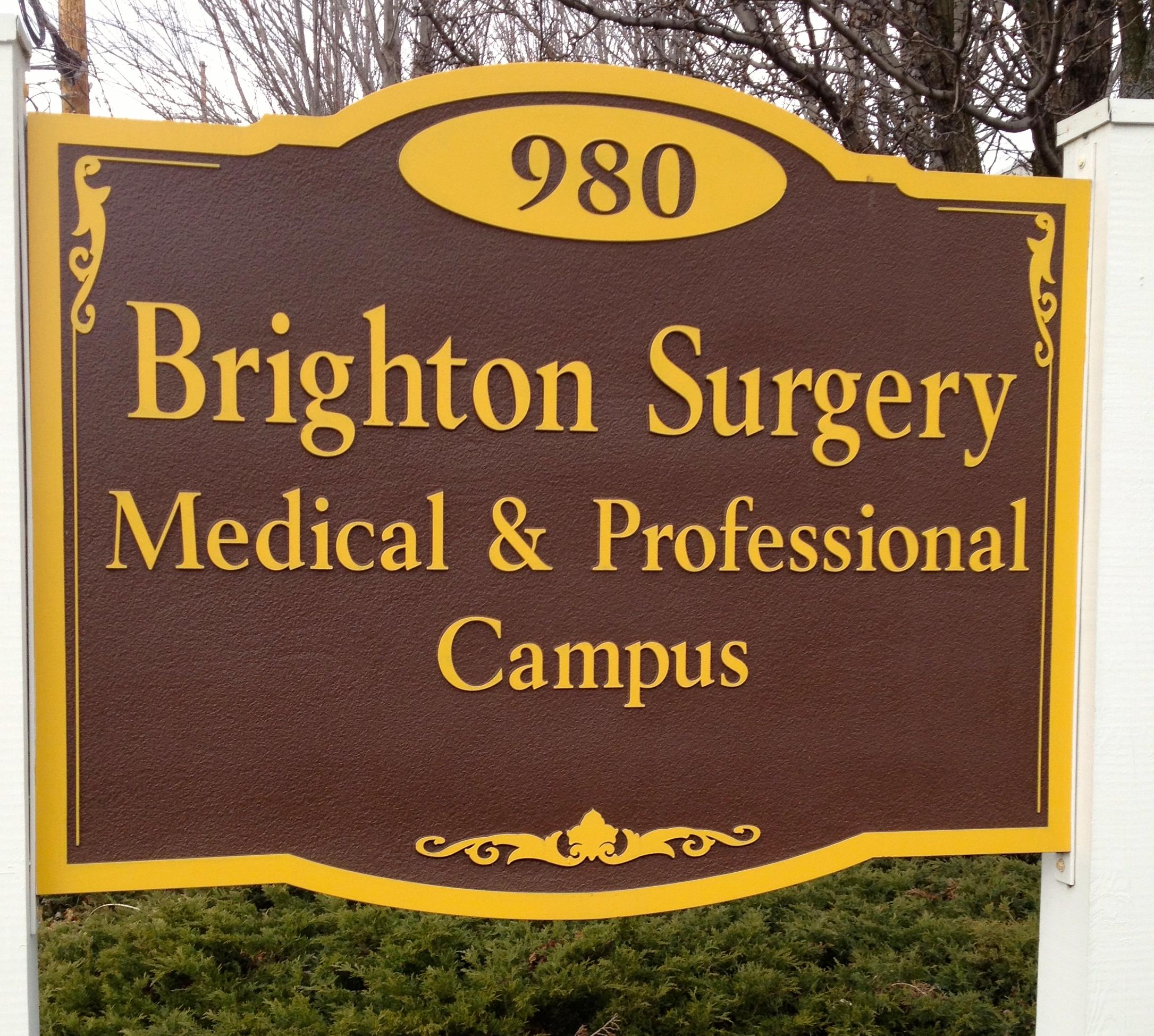 Brighton Surgical Campus Sign